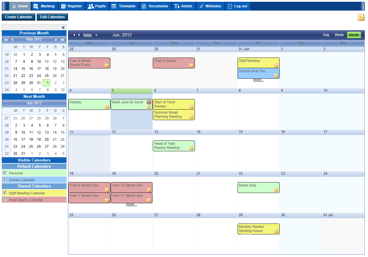 Double First Engage Portal Calendar plugin