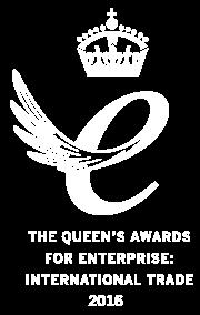 Queen's Award for International Trade 2016 emblem
